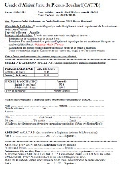 Inscriptions CATPB 2017-2018
